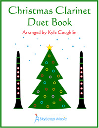 Christmas duets for woodwind instruments